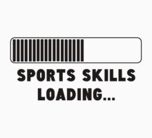 Sports Skills Loading Kids Clothes