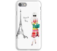 Bisous Paris iPhone Case/Skin