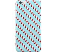 Candy striped barbershop poles iPhone Case/Skin