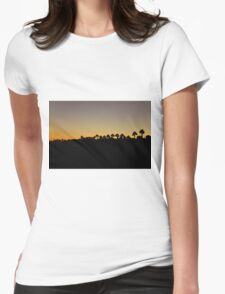 Palms Womens Fitted T-Shirt