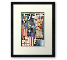 The Great American Wardrobe. Framed Print