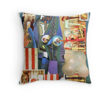The Great American Wardrobe. Throw Pillow