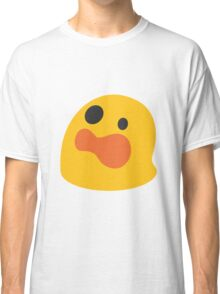 Astonished face emoji Classic T-Shirt