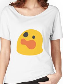 Astonished face emoji Women's Relaxed Fit T-Shirt
