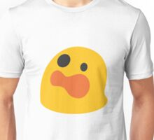 Astonished face emoji Unisex T-Shirt