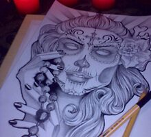 santa muerte by KathrinSh