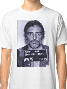 Mugshot Collection - Dennis Hopper Classic T-Shirt