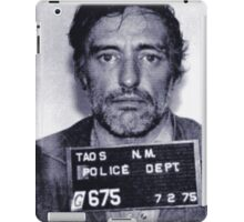 Mugshot Collection - Dennis Hopper iPad Case/Skin