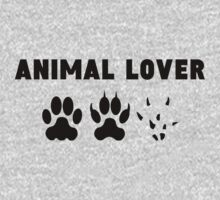 Animal Lover One Piece - Short Sleeve
