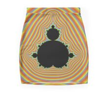 Psychedelic Mandelbrot pattern Mini Skirt