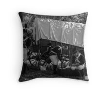 Soldiers of 1812 Throw Pillow