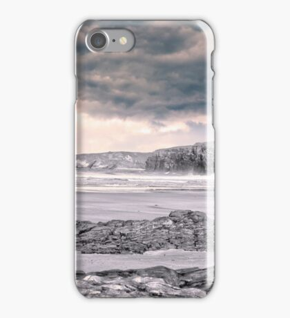 storm clouds with waves iPhone Case/Skin