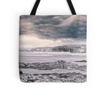 storm clouds with waves Tote Bag