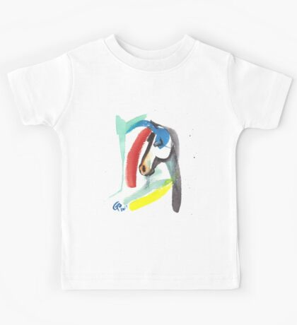 horse abstract horse Kids Tee