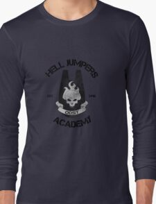 halo hell jumpers academy Long Sleeve T-Shirt