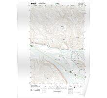 USGS Topo Map Washington State WA Coal Creek 20110818 TM Poster