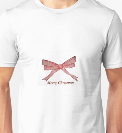 Christmas bow Unisex T-Shirt
