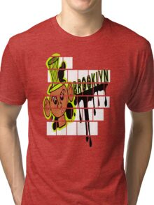 Brooklyn Graffiti Boy Tri-blend T-Shirt
