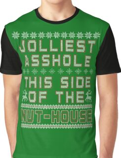 Christmas Vacation - Jolly Asshole Shirts Only Graphic T-Shirt