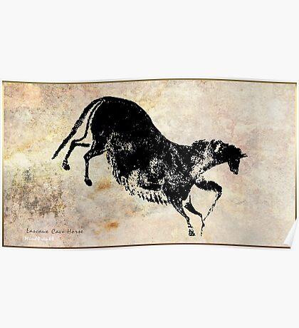 Lascaux Horse v2B Poster