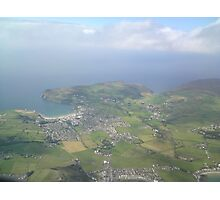 Port Erin From the Air Photographic Print