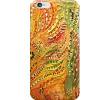 Primitive abstract 3 art iPhone Case/Skin