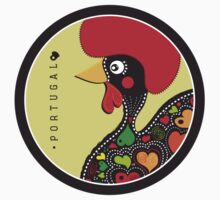 Symbols of Portugal - Rooster of Barcelos Kids Clothes