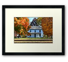Harry S Truman Farm, Missouri Framed Print