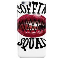 Coffin Squad Mouth Shut iPhone Case/Skin