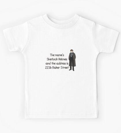 Sherlock Holmes Kids Tee