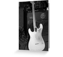 Graham Wood Drout's Strat Greeting Card
