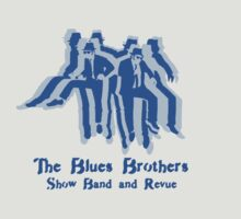 The Blues Brothers Dancing Silhouettes Shirt T-Shirt