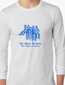 The Blues Brothers Dancing Silhouettes Shirt Long Sleeve T-Shirt