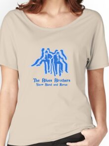 The Blues Brothers Dancing Silhouettes Shirt Women's Relaxed Fit T-Shirt