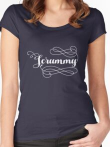 Scrummy! Women's Fitted Scoop T-Shirt