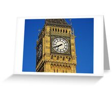 Big Ben 1 Greeting Card