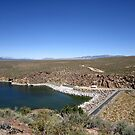Crowley Lake Dam by marilyn diaz