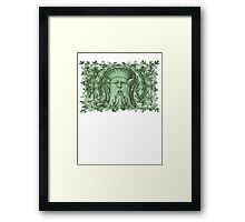 The Green Man Framed Print