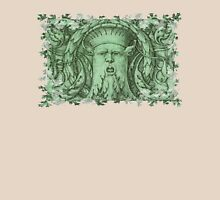 The Green Man Womens Fitted T-Shirt