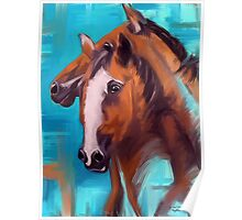 Horses Together 1 Poster