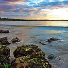 7 Mile Beach early morning - near Hobart Airport, Tasmania, Australia by PC1134