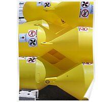 Spanish Yellow Buoys Poster