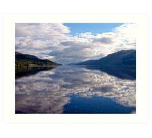 """Loch Ness"", Scotland Art Print"