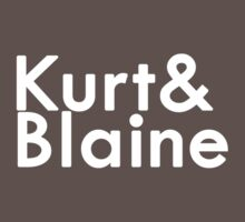 Kurt+Blaine by SecondHandShoes