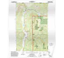 USGS Topo Map Washington State WA Leadpoint 241965 1992 24000 Poster