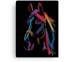 Pillow horse color me beautiful Canvas Print