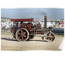"1926 Marshall 5nhp 10-ton Roller No.80608  ""Omon"" Poster"