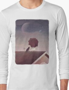 Twin Moon Long Sleeve T-Shirt