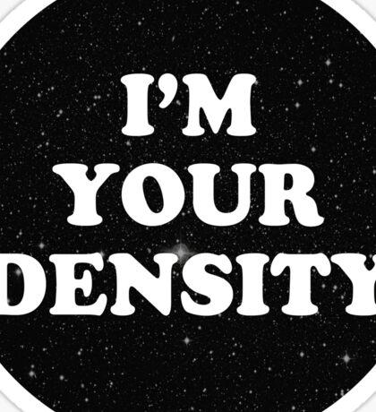 density Sticker