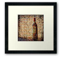 El Vino Dulce Framed Print